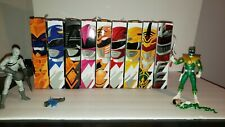 "Hasbro  Power Rangers 6"" Mighty Morphin Lighting collection lot."