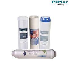 Conjunto De Filtros De Repuesto Para 5 Etapas Osmosis Sistema 2 paquete de reemplazo Reverso