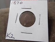 1870 INDIAN CENT GOOD (K2)