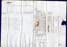 ITALIA - LOMBARDO VENETO - 1836 - Prefilatelica da Clusone a Brescia