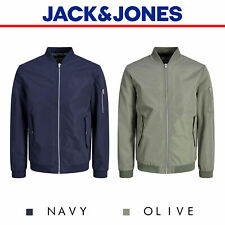 Jack And Jones Bomber Jacket Desert Lightweight