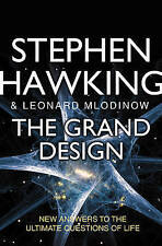 """VERY GOOD"" Mlodinow, Leonard, Hawking, Stephen, The Grand Design: New Answers t"
