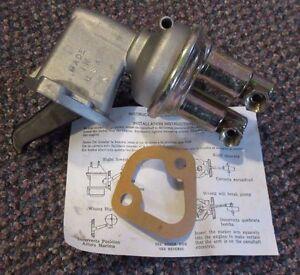 """42283 NEW NOS """"Made in USA"""" Pronto Fuel Pump - M60277 / 60277 - Tempo Topaz 2.3L"""