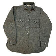 Vintage 60's Woolrich Medium Wool Blend Sweater Jumper Cardigan Button Down Up