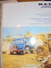 Prospekt Sales Brochure MAN M.A.N 26.280 DHS DHAS Kurzhauber LKW Truck Technik