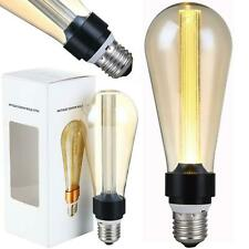 Vintage Filament LED Edison Bulb Dimmable ST64 Decorative Industrial Light E27