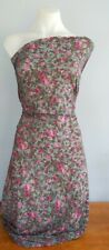 ROSE PRINTED JERSEY  - SOLD BY - 1/2MTR