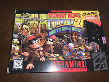 NINTENDO DONKEY KONG COUNTRY 2.... BOX AND INSERT ONLY