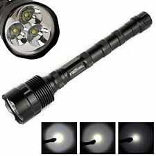 TrustFire 3800Lm T6 LED 5 Modes Camping Flashlight Torch 3x CREE T6 Light Lamps