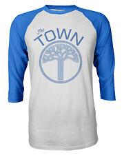 """Golden State Warriors """"The Town"""" Mens Raglan Quarter Sleeve T-Shirt"""
