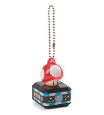 Super Mario Bros. Mario Kart 8 Red Mushroom Light Up LED Keychain