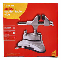 New Mini Table Top Vice Clamp Strong Suction Base Hobby Craft Electronics Model