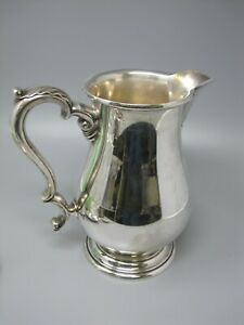 "International Sterling Silver Pitcher Prelude 9"" Tall 830 gr"