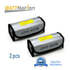 2pcs Lipo Battery Bag Guard Fireproof Explosionproof Sack For Charge &Storage