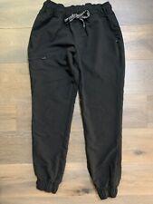 Women's Jaanuu Essential 5 Pocket Jogger Scrub Pants, Size XS Petite - Black