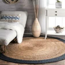 Modern Plain Area Rug Large Small Round Carpet Design Style