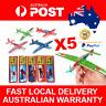 5pcs Classic Kids Toy WW2 Fighter Planes Flying Foam Plane Gliders w/ Propeller