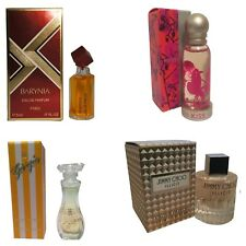 Ladies Womens Miniature Mini Perfume Gift Travel x4 Jimmy Choo Del Pozo Giorgio