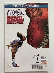 Moon Girl and Devil Dinosaur #1 Timely Comics hard to find 2016