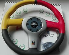 NARDI PERSONAL WILLIAMS F1 Steering wheel coloured leather 365 mm. diameter