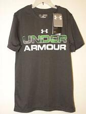 Under Armour NWT Heat Gear Loose Fit Shirt Grey Sz Youth Medium YMD
