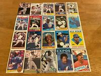 Lot of 100 Andre Dawson Baseball Cards TOPPS DONRUSS SCORE FLEER CUBS+++