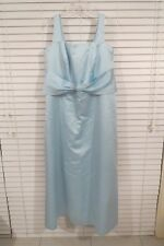 c3e500c4ee7 ALFRED ANGELO Light Bluey Green Long Formal Dress Sz 16 Evening Bridesmaid  Prom