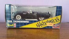 1956 Ford Thunderbird Convertible Black 1:18 Scale Die Cast Revell