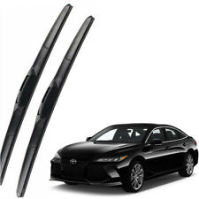 Genuine Set Front Windshield Wiper Blades Fit For 2019-2021 TOYOTA Avalon