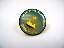 Vintage Collectible Pin: St. Brendan Church Miami Golden Jubilee
