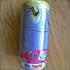 My Little Pony DERPY HOOVES TIN-TASTIC Pop! Creative Activity Set pencils eraser