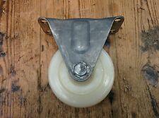 Stile vintage fisso industriale di ricino 100mm POLICARBONATO RUOTA, Aged patina