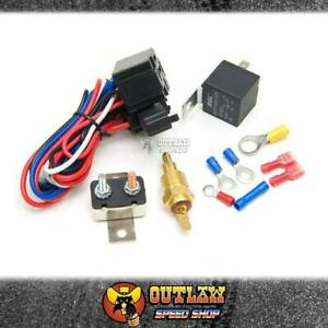 AEROFLOW THERMO FAN CONTROL RELAY & THERMOSTAT ON AT 85°C OFF AT 76°C-AF49-1006
