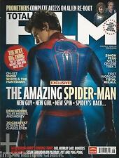 Total Film Magazine Spider-Man Prometheus Demi Moore Bill Murray Car Chases 2012