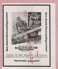 DÜSSELDORF, Werbung 1929, Robert Pooth & CO. PAFF Leder-Öl chemische Industrie