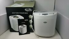 Brevile Auto Bake Bread Maker With Box, Manual & Accessories VBM003 - New Other