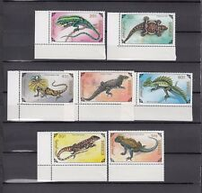 TIMBRE STAMP 7  MONGOLIE Y&T#1857-63 LEZARD IGUANE  NEUF**/MNH-MINT 1991 ~A74