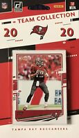 2020 Tampa Bay Buccaneers 2020 Donruss Factory Sealed 12 Card Team Set