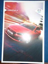 Mazda 3 range brochure Nov 2013