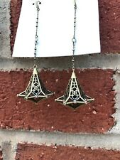 💖🌟NWT Kendra Scott Diana Earrings in Bronze Gold Metal 🌟💖