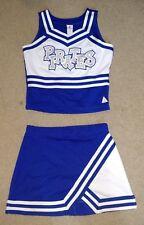 Real Authentic Pipkin Pirates Cheer Adult Cheerleading Uniform Springfield Blue