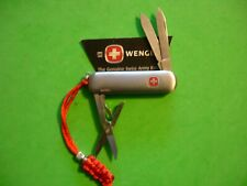 "NTSA SWISS ARMY WENGER MULTIFUNCTION POCKET KNIFE ""S.S. ESQUIRE"""