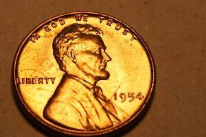 1954 P LINCOLN PENNY BU 8