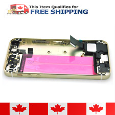 iPhone 5S Gold Housing Back Battery Door Cover Mid Frame Full Assembly