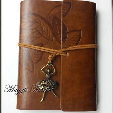 A5 marrón diario Bailarina encanto Diseño De Hoja Diario Cuaderno Estudiante