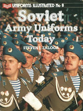 UNIFORMS ILLUSTRATED 8 SOVIET ARMY AFGHANISTAN AIRBORNE KGB BORDER GUARDS SIBERI