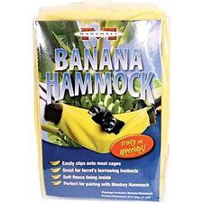 Marshall Pet Products Ferret Banana Hammock Small Animal Pets Supplies Yellow