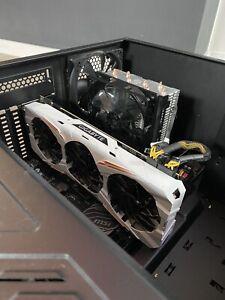 Gaming PC Gebraucht Ryzen 7 1800X 3.6GHz Gigabyte 1080ti Arbeitsspeicher 16GB