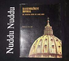 Rassemblement Mondial des anciennes eleves du sacre-coeur Roma 1960