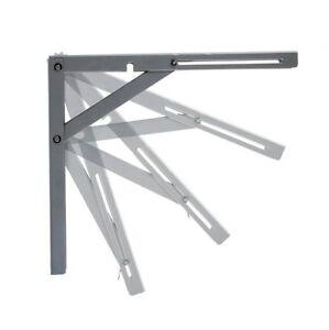 NEW Airtic Designer Wall Mounted Folding Quality Shelf Bracket Heavy Duty